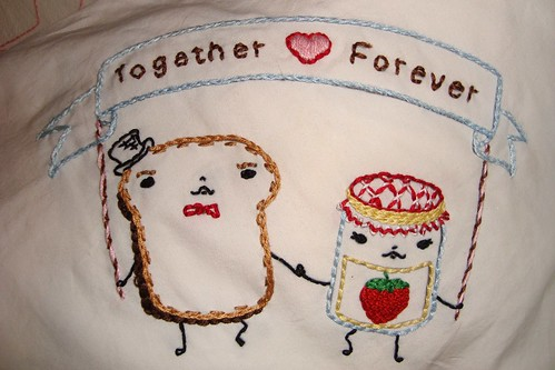 "May stitchalong ""Together ♥ Forever"""
