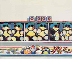 Wayne Thiebaud, Toy counter, 1962