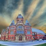 Memorial Hall: Harvard University, Cambridge, (Greater Boston) Massachusetts, USA