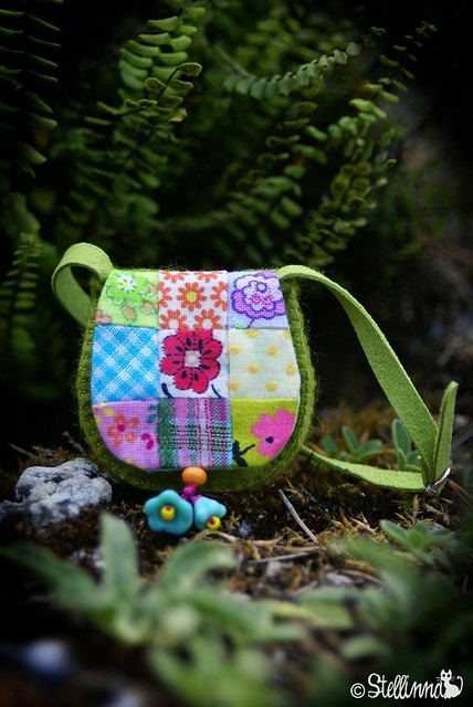 Patchwork Princess / Pop Flowers