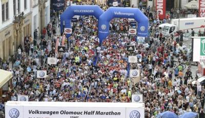 Olomoucký půlmaraton: tři tisíce běžců zaplní Horní náměstí