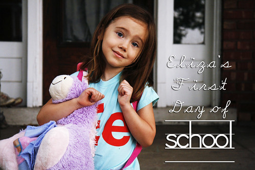 Eliza's First Day of School!