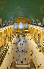 Grand Central from Up High (MDanielsonPhoto) Tags: nyc newyorkcity ny grandcentralstation