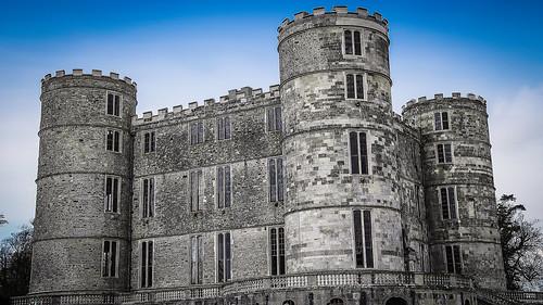 Lulworth Castle, Dorset, England