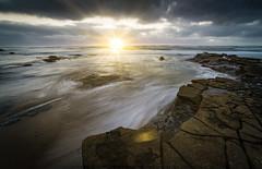 Sunset Cliffs #674 (Fluid Light Images) Tags: sunset california coast water movement sunsetcliffs sandiego oceanbeach longexposure samyang 14mm sony a7r landscape seascape wide angle