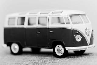 VW Camper - B&W