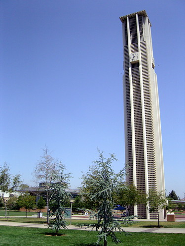 UC Riverside Bell Tower. Riverside