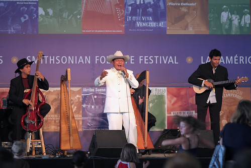 latin american musicians at the 2009 smithsonian folklife festival in