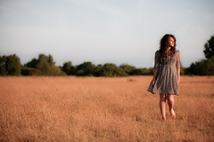 As we walked in fields of gold (photocillin) Tags: sunset summer england woman girl beauty field grass walking relax gold golden model warm dress walk sting sunny competition hampshire next april fields dreamy savannah brunette relaxed stroll tanned beautician amble goldenratio littlestories wheeldon blackbushe picswithsoul photocillin summertimeuk welcomeuk