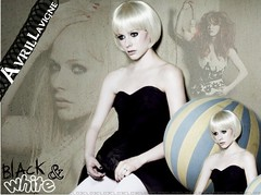 Avril Lavigne (black & white) ( Areli Garca) Tags: avril lavigne cl03