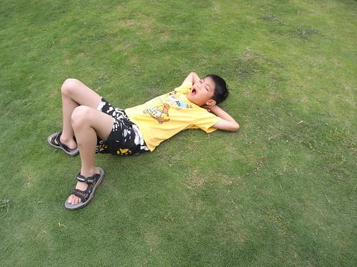 你拍攝的 38青青草地上的葛格。