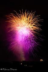 One hour and half ago: Bastille Day fireworks in Boulogne - France (Fabrice Drevon) Tags: france nikon day fireworks boulogne 14 fete nikkor fr juillet bastille dx nationale billancourt d90 the4elements anawesomeshot 1685mm nikonflickraward fabricedrevon