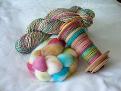 Custom Handspun Slot with Meridith ~ up to 16oz!!!  Offer from Family Roots Fibers as well!!