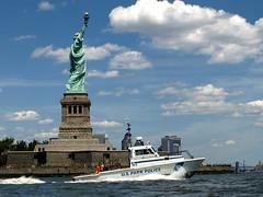 Statue of Liberty, New York Harbor (jag9889) Tags: park new york nyc ny newyork bay harbor boat us newjersey manhattan nj police landmark upper national statueofliberty lower m6 2009 patrol finest hudsoncounty y2009 jag9889