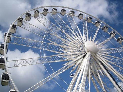 Pariserhjul foran Palads