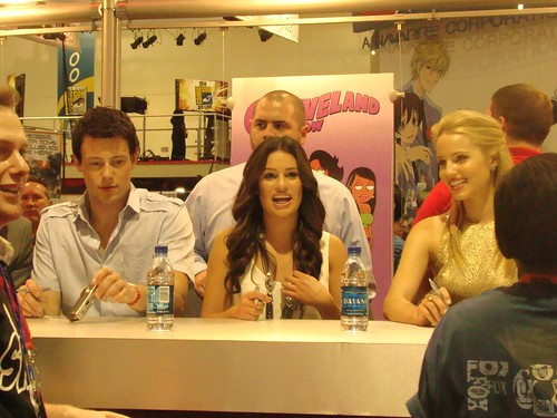 dianna agron cory monteith and lea. Cory Monteith, Lea Michele