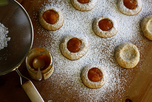 Honey Roasted Peanut Thumbprint Cookies