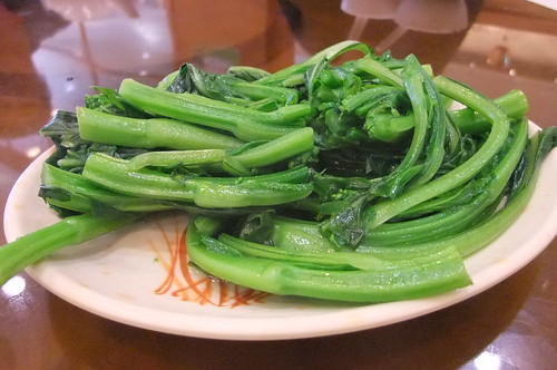 Boiled Choy Sum