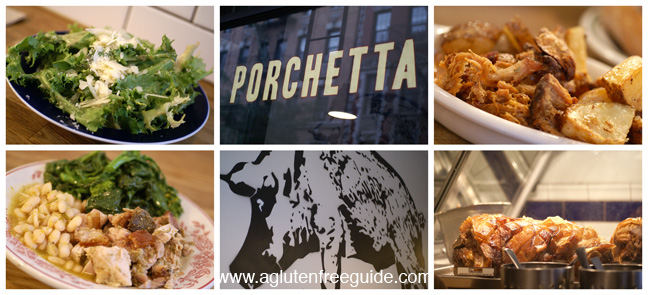 Porchetta Gluten Free Restaurants NYC