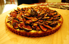 Fig tart (palewire) Tags: food tart figs