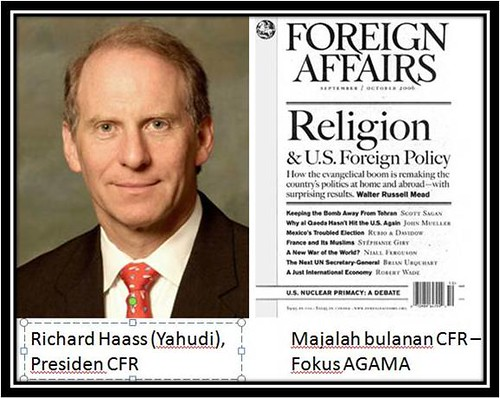 Presiden CFR, Richard Haass (Yahudi)