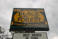 Black Forest Sign