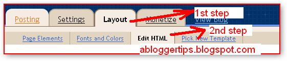 How to add meta tag in blogger