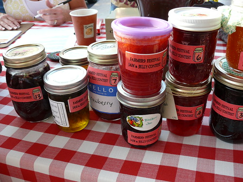 Jelly & Jam Contest Entries at the North Market 8/15/09