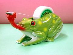 tape cutter (ki_mi_do_ri) Tags: japan nikon frog kawaii zakka   e5700