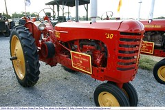 2009-08-14 3337 Indiana State Fair Day Two -Tractors  Massey Harris