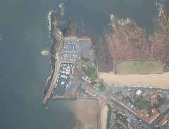 North Berwick Harbour (cessna152towser) Tags: scotland flying aerialview northberwick fromtheair