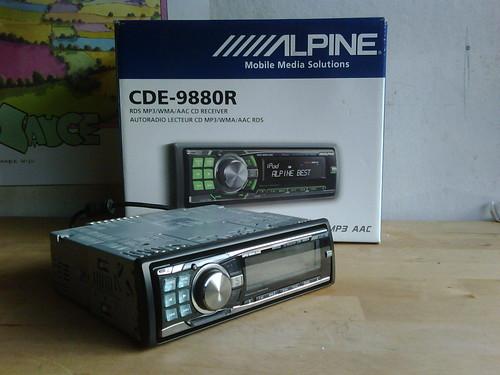 alpine auto radio