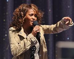 Whitney Houston  Central Park, NYC  September ...