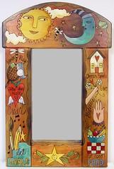 Sticks о Round Top Mirror - MIR-050 - Wonder Play