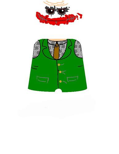 Lego Joker Decals