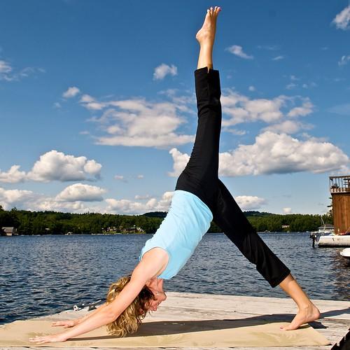 Exercice de yoga qui brûle la graisse