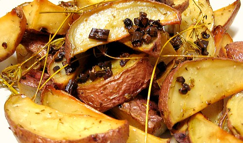 Roasted spuds