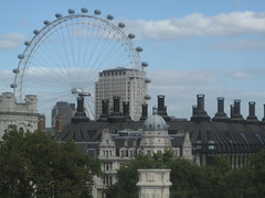 The London eye - a view from the QEII conference centre