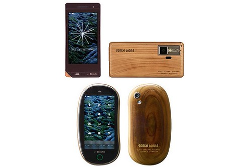 NTT DoCoMo TOUCH WOOD