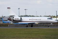 CS-DFG - Netjets Europe - Dassault Falcon 2000EX - Luton - 090910 - Steven Gray - IMG_4678