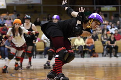 Albany All Stars137 (chimpmitten) Tags: rollerderby albany albanyny albanyallstars