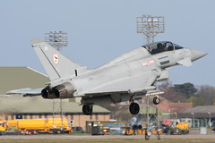 Coningsby Typhoon (Dean West) Tags: force air royal lincolnshire landing 29 typhoon raf airfield airbase squadron coningsby
