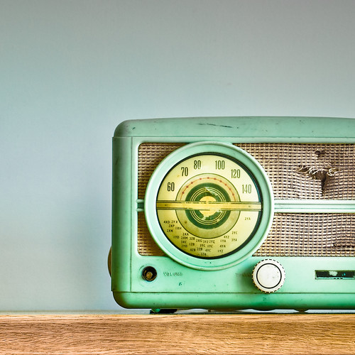 Cuba Gallery: Retro / radio / vintage / speaker / typography / wood / cool / green / photography / music