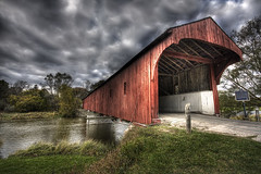 The West Montrose covered bridge (Raf Ferreira) Tags: bridge ontario canada west covered montrose rafael hdr the ferreira peixoto