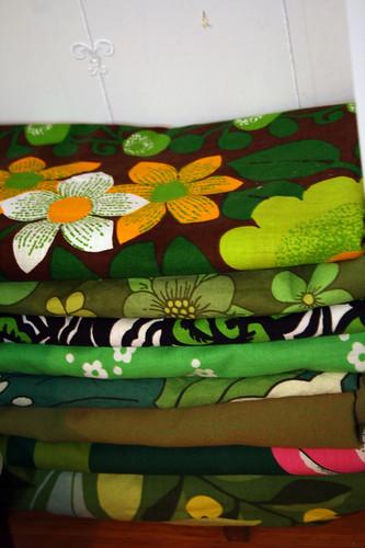 Inspiring pile of fabrics 1