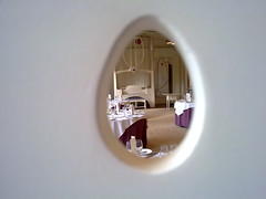 Music room through chair (Godfather of Science) Tags: mackintosh houseforanartlover