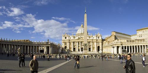 Panorama - Saint Peter's Square