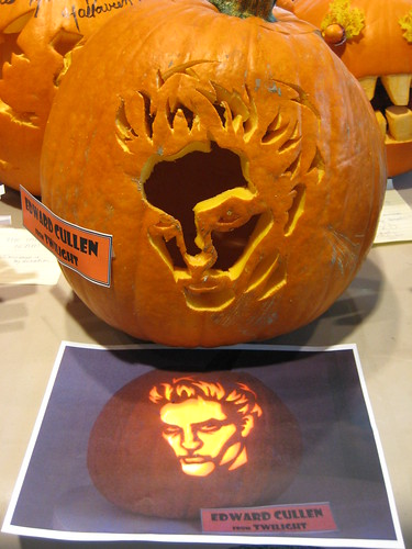 Pumpkin Inspiration: Edward Cullen