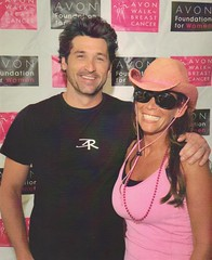 Patrick Dempsey and Missy Ward During the Avon Walk for Breast Cancer