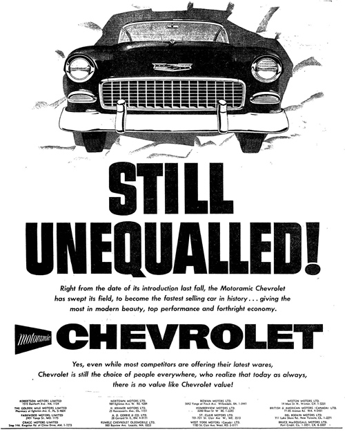 Vintage Ad #951: Still Unequalled!